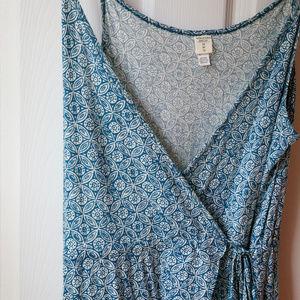 Volcom Wrap Hi-low Maxi Dress